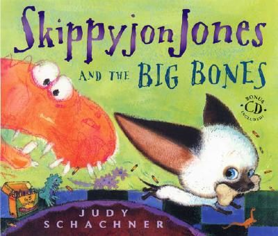 Skippyjon Jones and the Big Bones [With CD]  by Judith Byron Schachner     This series is great! It's is best to check out one with a CD from the library to listen to it before you buy it.Worth Reading, Book Worth, Big Bones, Dinosaurs, Mr. Big, Judy Schachner, Skippyjon Jones, Kids Book, Children Book