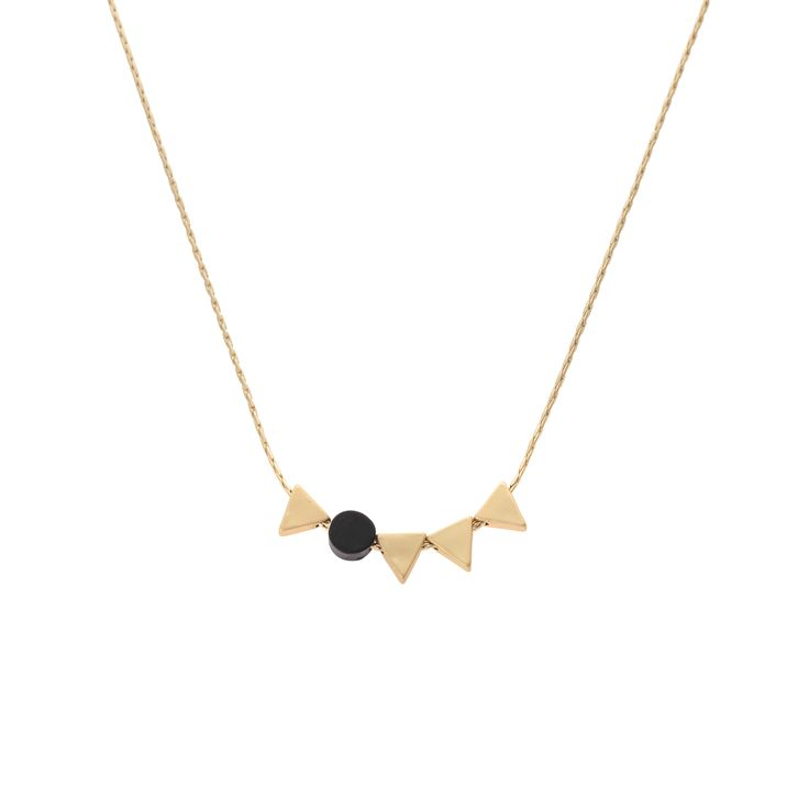 Buy the Arcos Mini Shapes Necklace at Oliver Bonas. Enjoy free worldwide standard delivery for orders over £50.