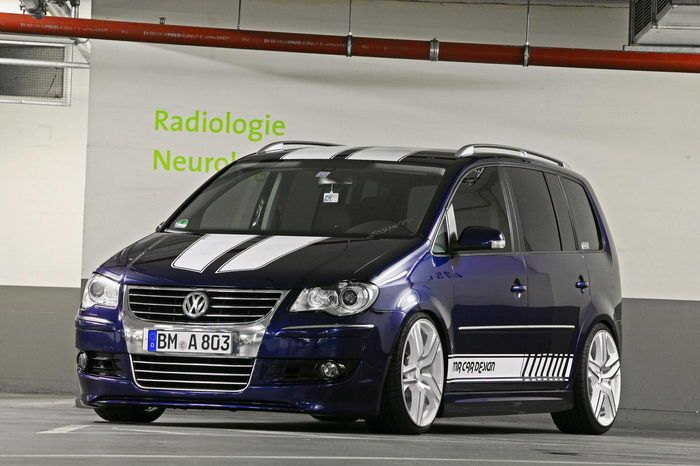 Volkswagen Touran tuning (MR Car Design)