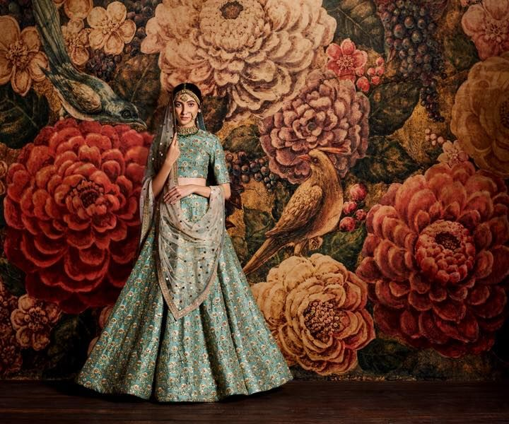 A new day, a new Sabyasachi fix. So here's the thing - just when life was getting predictable for us, in swooped Sabya making us all feel like summer goddesses. Courtesy: His new collection, The Mughal Garden where artsy watercolour vintage florals play footsy with glorious drapes and embroider