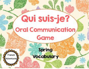 Here is a great game to get the kids speaking French!