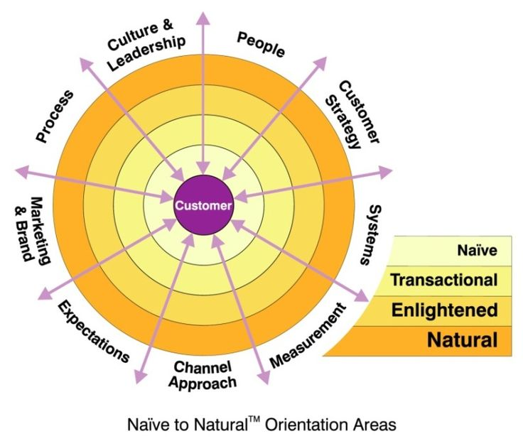 Naive to natural model of beyond philosophy customer