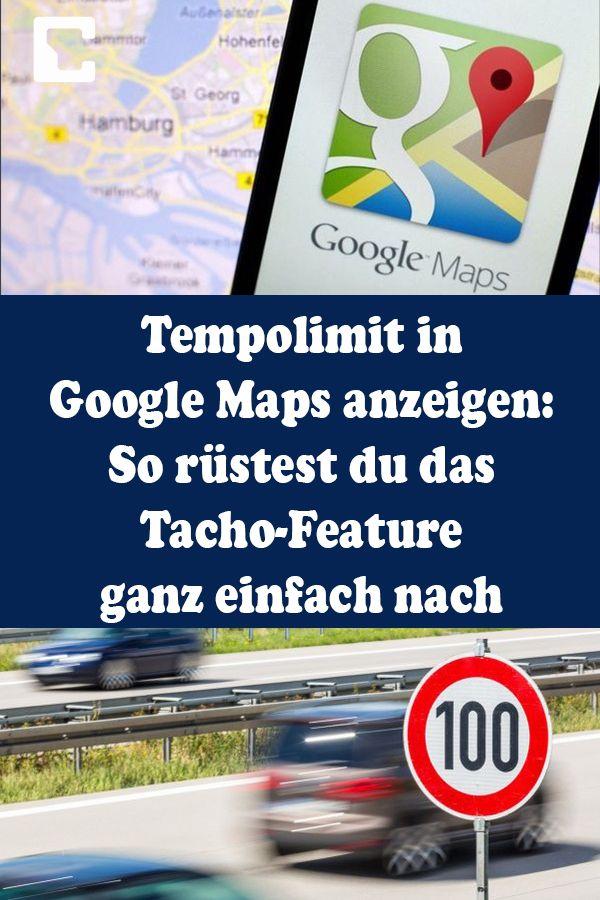 Tempolimit Google Maps