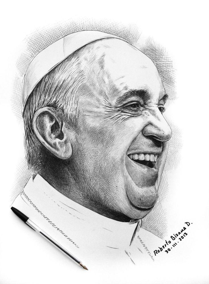 Papa Francisco. by RobertoBizama on DeviantArt