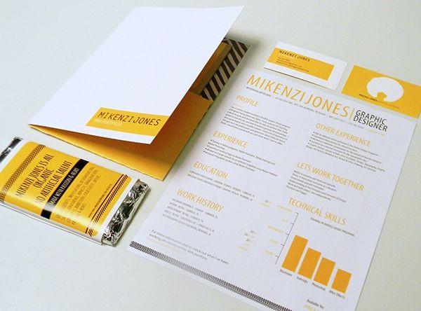 Self Promotion Piece Mini Portfolio Resume Candy Bar Business Cards Self Promotion Design Infographic Resume Self Promotion