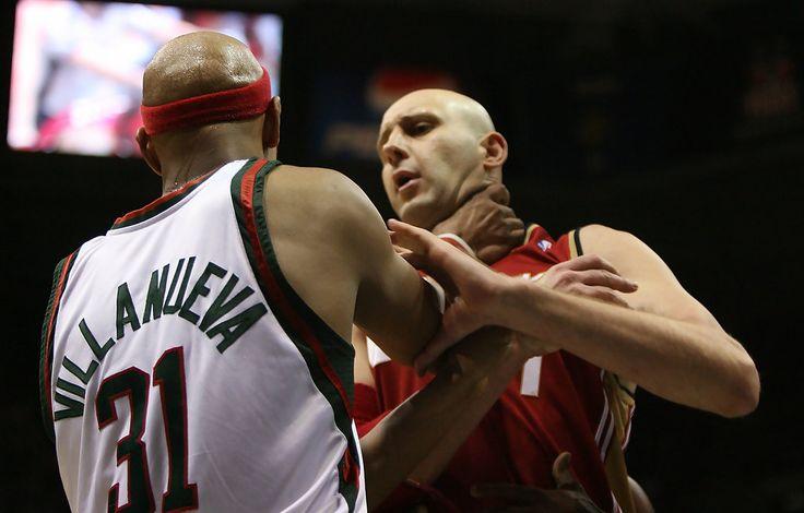 What no. jersey did #cavs player Zydrunas Ilgauskas wear? From #1 #NBA QUIZ App www.nbabasketballquizgame.com