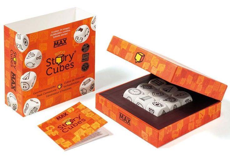 Story Cubes: wersja MAX - od 59,55 zł, porównanie cen w 21 sklepach. Zobacz inne Gry planszowe, najtańsze i najlepsze oferty, opinie.