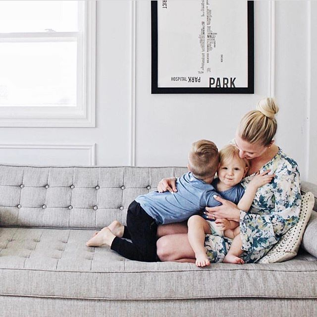 Mama snuggles are the best!  Soaking up these two littles before they outgrow me.  Boy mom, mom of boys, family photos. Lifestyle family photos with kids indoors.  Matching boys clothes by Shedo Lane  Kids Short Sleeve Pocket T - UPF 50+ UV Sun Protection T Shirts