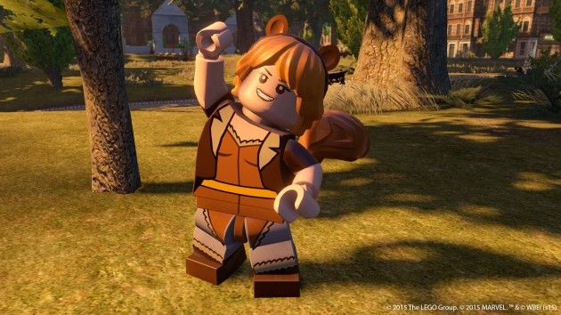 Lego Marvel The Avengers Unbeatable Squirrel Girl
