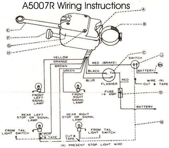 Wiring Diagram: universal turn signal wiring diagram brake light Universal  Turn Signal Wiring ... | Mecanica automotriz, Auto electrico, Tatuajes para  hombresPinterest