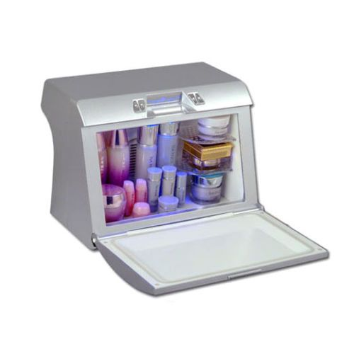 [MISHELL] Cosmetic Fridge AME-0103WN White Makeup Storage Refrigerator 9.6L