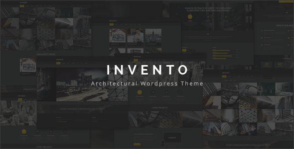 Invento | Architecture Building Agency Theme