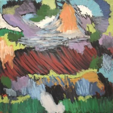 "Saatchi Art Artist Kjetil Jul; Painting, ""Nature No. 1"" #art"