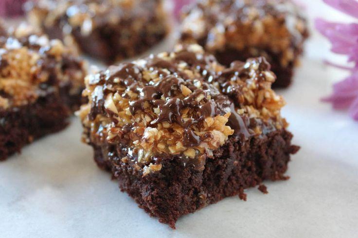 PaleOMG Samoa Brownies
