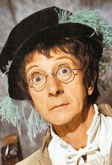 Charles Hawtrey in a promo shot for Henry