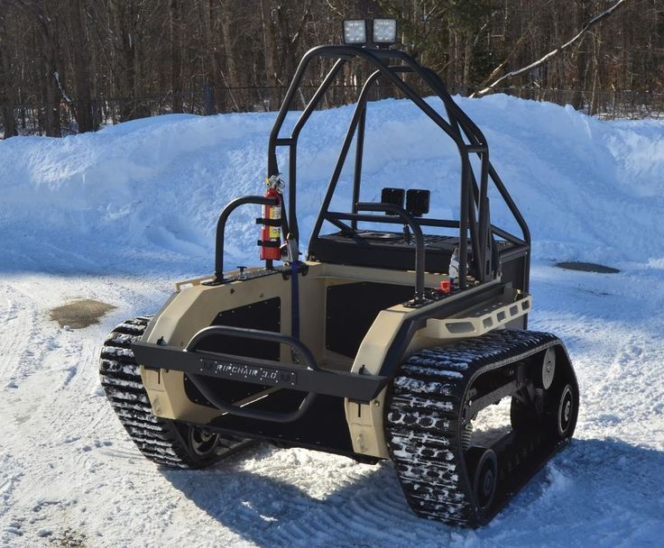 RIPCHAIR THE WORLDS FIRST OFFROAD TANK WHEELCHAIR