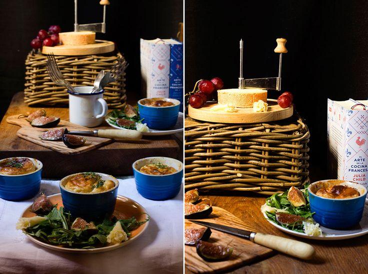 Yerbabuena en la cocina: Soufflé de queso