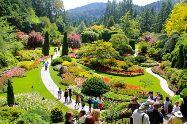 Butchart Gardens - thế giới thiên đường dành cho các loài hoa ở Canada