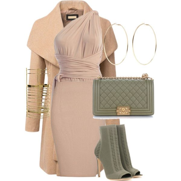 A fashion look from February 2017 featuring MANGO skirts, Gianvito Rossi ankle booties and Chanel shoulder bags. Browse and shop related looks.