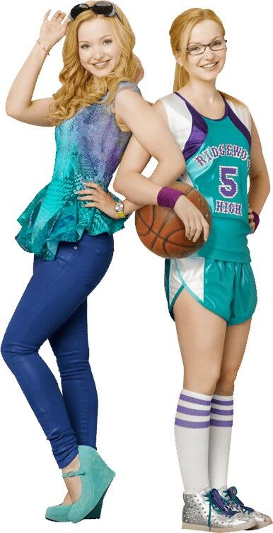 Cool photo of liv and maddie.