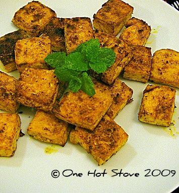 Tandoori Style Tofu