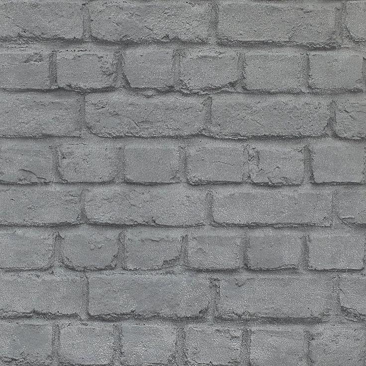 17 meilleures id es propos de papier peint brique sur - Imitation de brique interieur ...