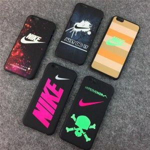 Cool Nike Logo Just Do It Logo Design Bumper Schlank Nachtleuchtende Handyhülle iphone 6/6Plus