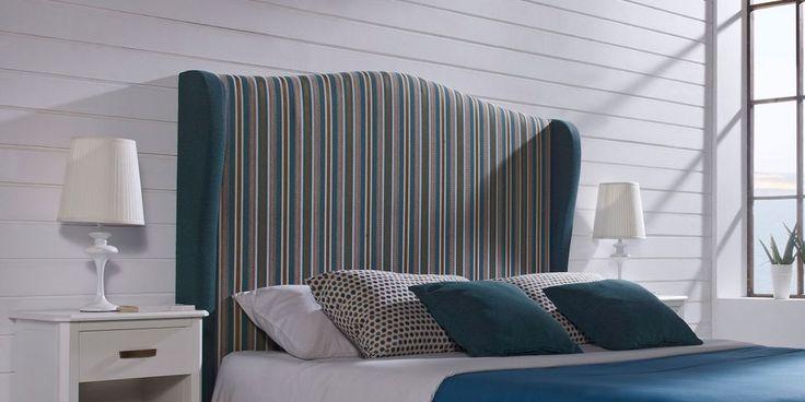 Cabecero MARBELLA | Canapi Inspirado en el Mediterráneo, su diseño engloba lo más actual con lo más romántico, evocándonos con sus armoniosas líneas y acabados años pasados.