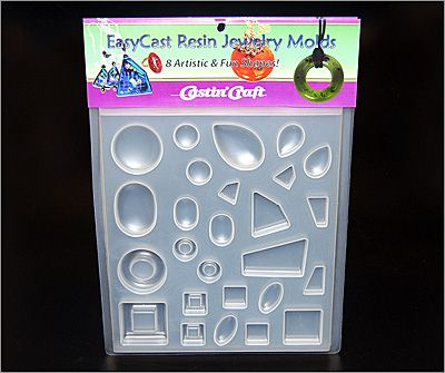 EasyCast Resin Jewelry Mold #2 - 8 Shapes
