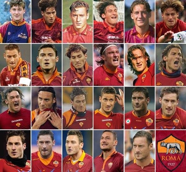 23 years ago today Francesco Totti made his first-team debut for AS Roma aged just 16. And the rest is history.