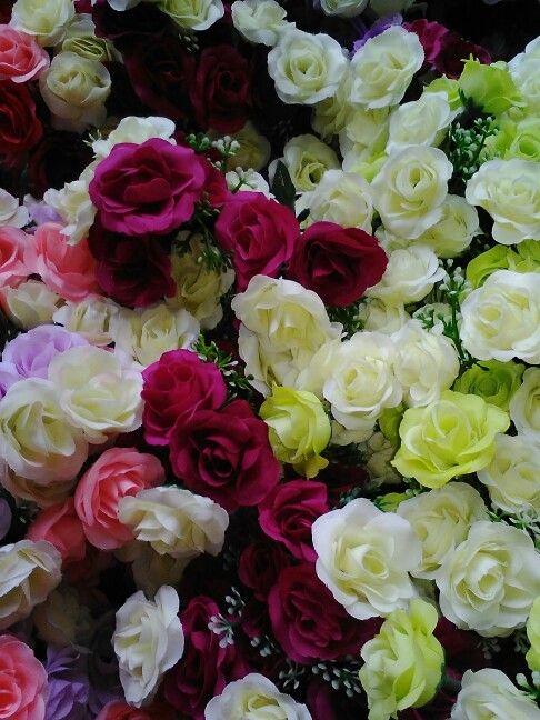 Small mixed Roses