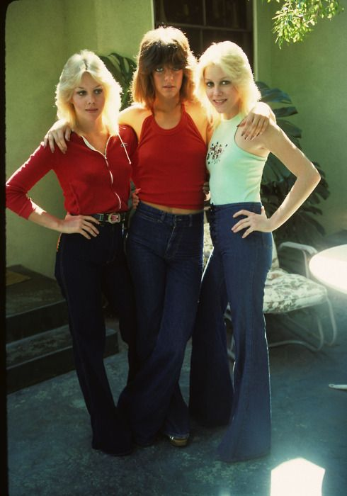 Marie Currie, Jackie Fox & Cherie Currie in San Francisco Valley