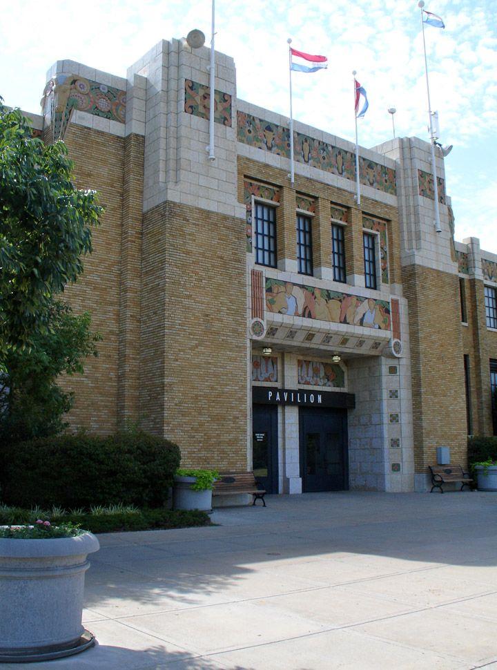 Art Deco ~ U.S.A.   Expo Square Pavilion, Tulsa St…
