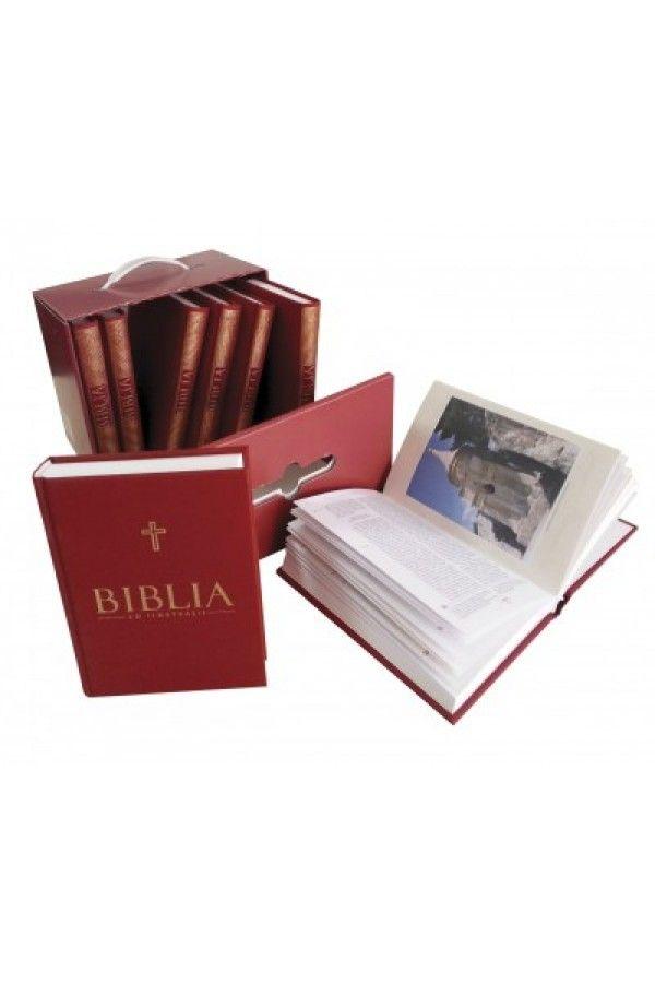 Biblia cu ilustratii pentru copii - Set 8 volume + cutie