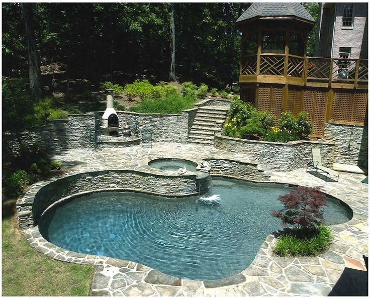 Best 20 pool retaining wall ideas on pinterest no signup required garden retaining wall diy Natural swimming pool builders