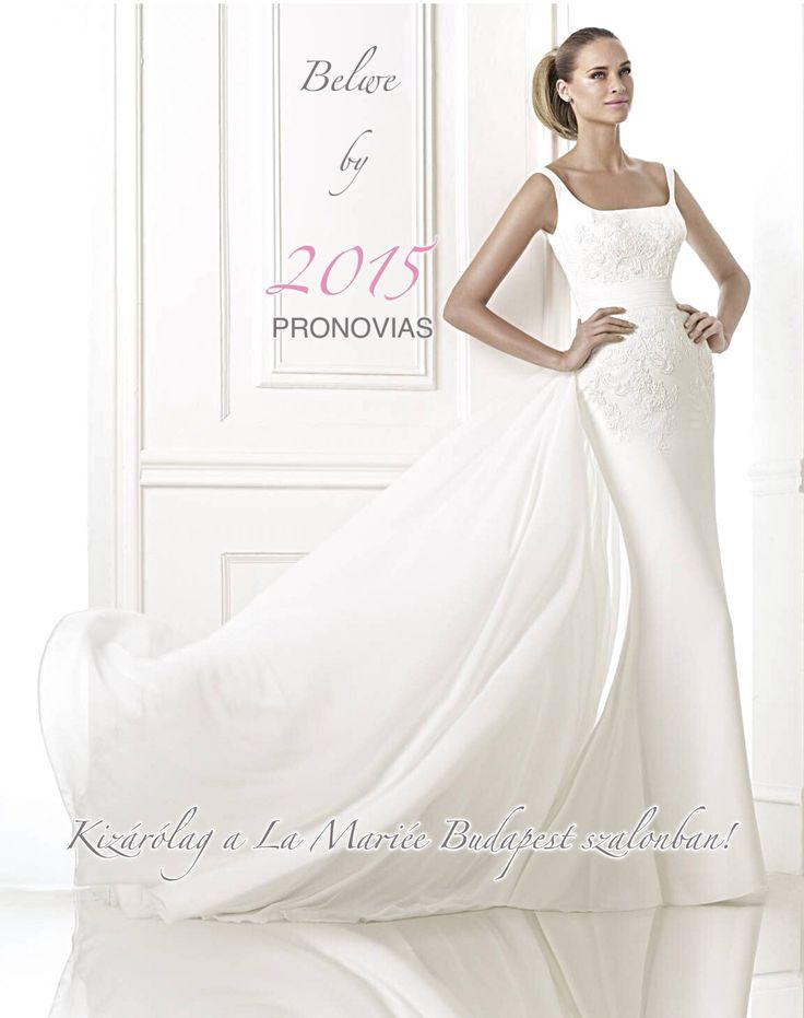 Belwe esküvői ruha http://lamariee.hu/eskuvoi-ruha/pronovias-pre-collection-2015/belwe