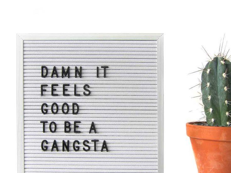 Un letter board pour afficher l'humeur du jour