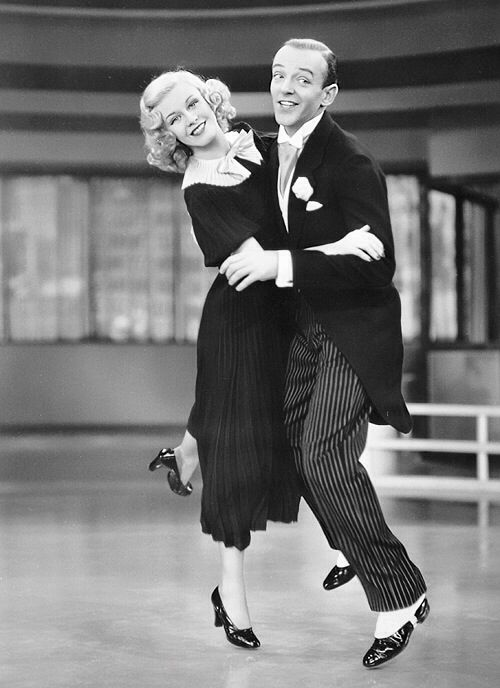 Fred astaire swinging time
