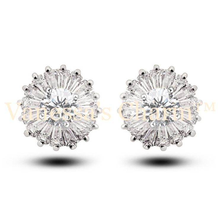 Crystal earrings, earrings, jewelry, smycken, örhängen