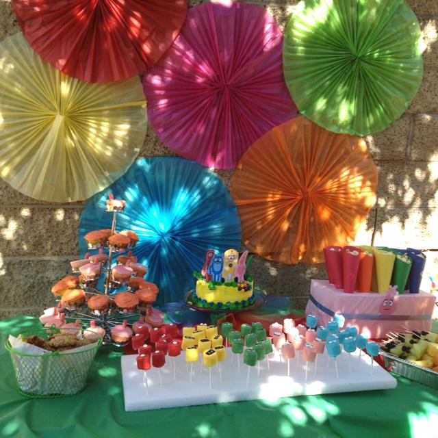 Yo Gabba Gabba Party Ideas Decoration