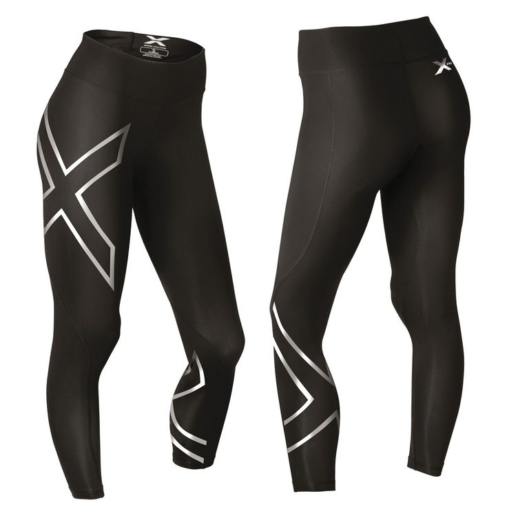 2XU Hyoptik Thermal Mid Rise Comp Tights, kompresjonstights dame - Kompresjon - xxl.no