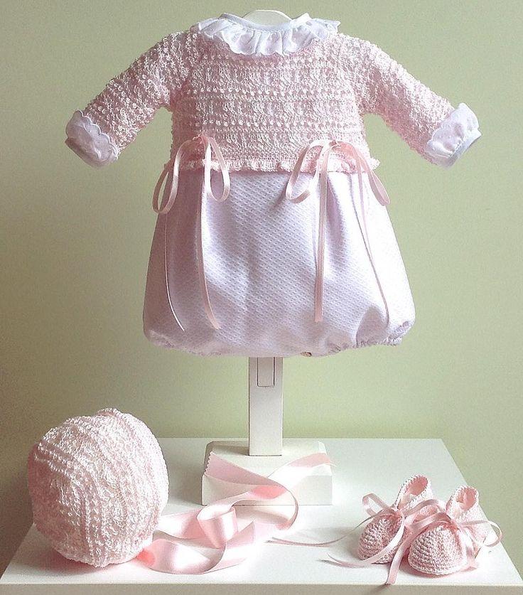 Pelele rosa para una princesa para mayor info: petitcolibrishop@gmail.com