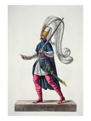 Just went to Turkey this weekend and saw a Turkish Janissary Going to War!! Men i love their style, Go BREAK A LEG TURKISH JANISSARY!!