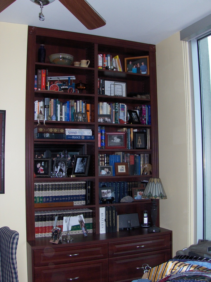 Lots of book?  No problem - Tailored Living of Richmond does bookshelves too!  www.tailoredliving.com/glenallen