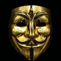 Geek | Halloween Costume Ball Terrorist Mask Hacker Mask Adult Male Ghost Step Dance Monster Vengeful Mask
