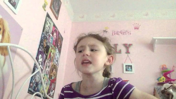 """""""Let Me Poop""""  to Disneys Frozen """"Let It Go""""  I'm sure she won't regret this by the time she reaches high school...."""
