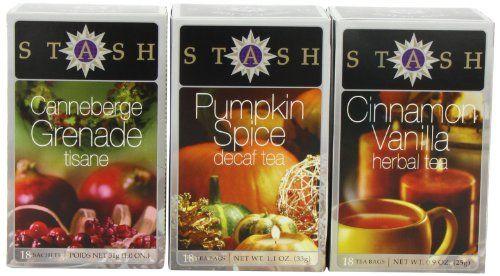 Stash Tea Company Autumn Teas Trio Gift Set Stash Tea Company, GIFT BASKETS if you wish to buy just enter AMAZON right HERE http://www.amazon.com/dp/B0046KO7JA/ref=cm_sw_r_pi_dp_w29Jsb19EVHHFZ7D