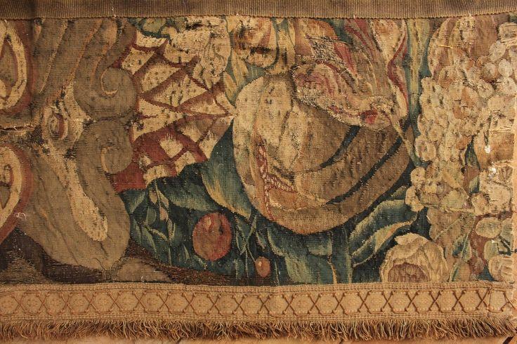 c1750 Aubusson настенный гобелен XVIII века текстиль французский