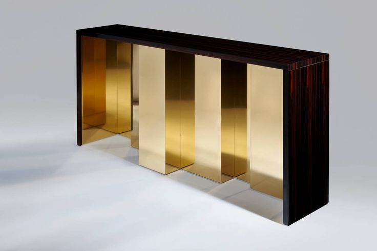 Vibration Console Table by Hervé Langlais | From a unique collection of antique and modern console tables at https://www.1stdibs.com/furniture/tables/console-tables/