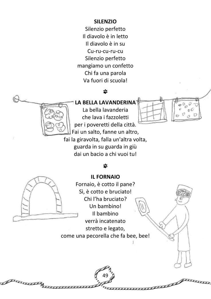 Raccolta di filastrocche, ninna nanne, poesie, preghiere, detti e proverbi raccontati dai nonni e illustrate dai bambini della scuola dell'infanzia Vittorio Trancanelli in collaborazione con l'Associazione Birba e la Pro Loco di Petrignano